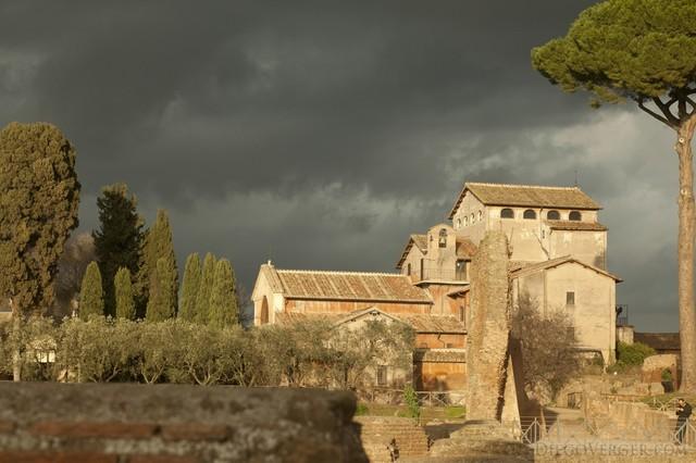 Church of San Bonaventura al Palatino, Rome, Italy