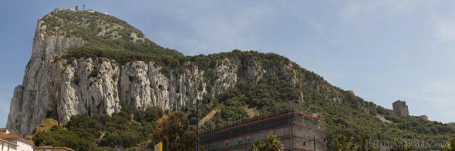 Panoramic view of the Rock of Gibraltar - Gibraltar