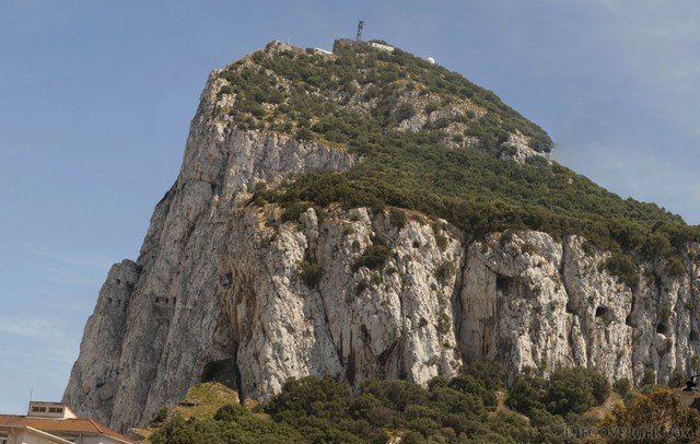 Gibraltar and the Rock of Gibraltar