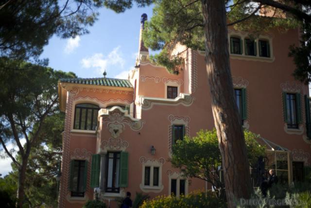 Gaudí House Museum at Park Güell - Barcelona, Spain