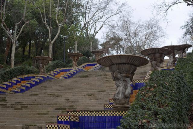 Passeig de Jean Forestier Barcelona