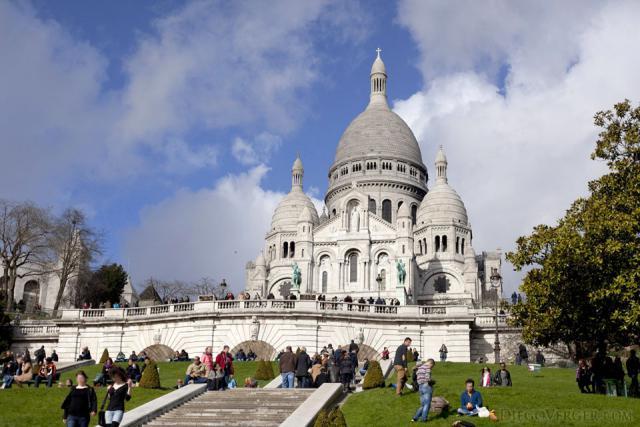 Basílica del Sagrado Corazón - París, Francia