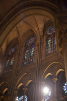 Clerestory of Notre-Dame - Paris, France