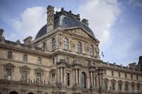 Pabellón Richelieu del Louvre - París, Francia