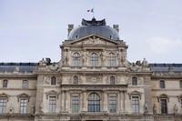 Pabellón Sully del Louvre - París, Francia