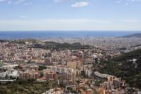 Barcelona from the viewpoint of Arrabassada - Barcelona, Spain