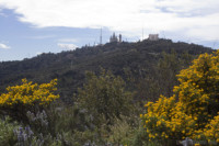 Ascension to the summit of Tibidabo - Barcelona, Spain