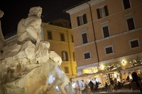 Fountain of the four Rivers, Piazza Navona, Rome