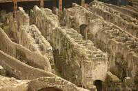 Hipogeo del Coliseo de Roma, Italia