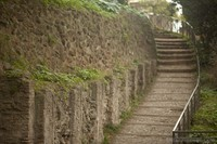 Ancient stairs of the Palatine hill