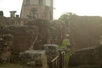 Ruins next to the Domus Flavia