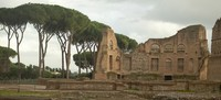 Ruins next to the Hippodrome of Domitian