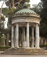 Temple of Diana in Villa Borghese, Rome, Italy