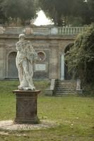Estatua en Villa Doria Pamphili