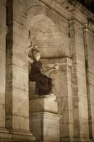 Statue of the goddess Rome in the Campidoglio