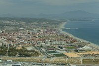 Andalusia from the Rock of Gibraltar - Gibraltar
