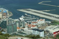 North District of Gibraltar and its international airport - Gibraltar