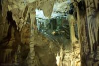 Progression of speleothems - Nerja, Spain