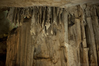 Fractured speleothems - Nerja, Spain