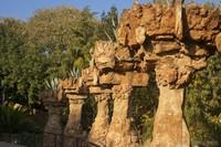 Park Güell trails - Barcelona, Spain