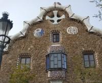 Casa del Guarda of Park Güell - Barcelona, Spain
