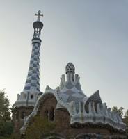 Park Güell administration pavilion - Barcelona, Spain