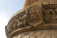 Detail of a Bell Tower of the Tibidabo - Barcelona, Spain