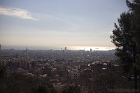 Panoramic view of Barcelona - Barcelona, Spain