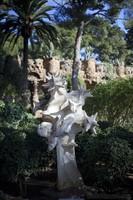 Cosmos sculpture at Park Güell - Barcelona, Spain