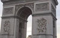 Detalle del Arco de Triunfo de París