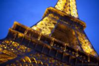 Cara noroeste de la torre Eiffel - París, Francia