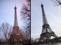 La torre Eiffel de día - París, Francia