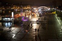 Muelle de Branly y puerto de la Bourdonnais - París, Francia
