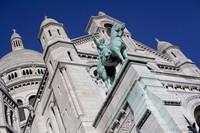 Estatua ecuestre del rey San Luis - París, Francia