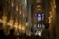 Central nave of Notre-Dame - Paris, France