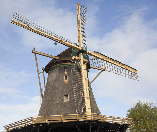 Windmills and scenery of Weesp