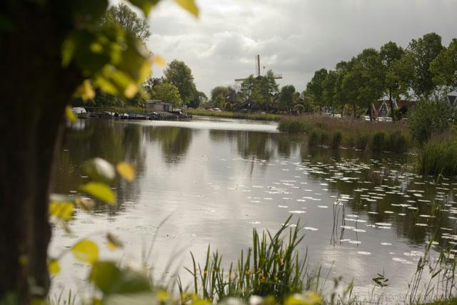 A branch of the Vecht River in Weesp - Weesp, Netherlands