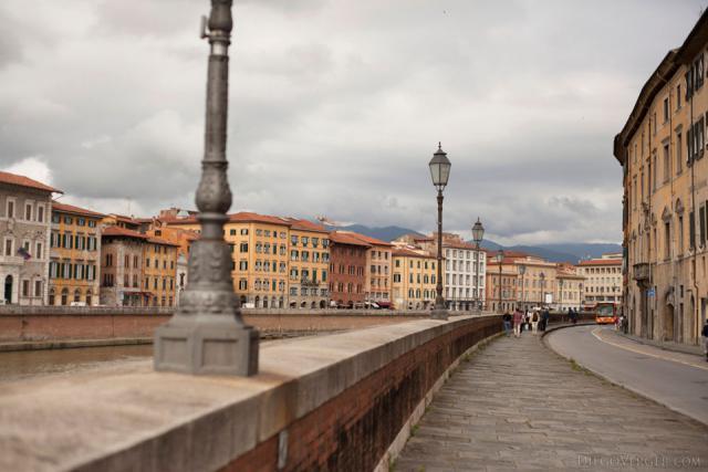 Rue Lungarno Gambacorti - Pise, Italie