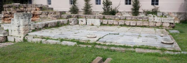 Fountain House next to the Dipylon of Kerameikos in Athens - Athens, Greece