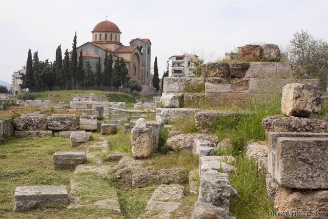 The archaeological site of Kerameikos [Κεραμεικός] - Athens, Greece
