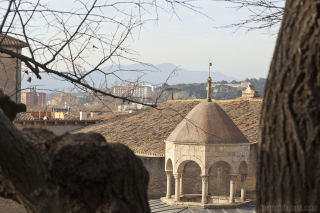 Cupola of the Arab Baths (Banys Àrabs) of Girona - Girona, Spain