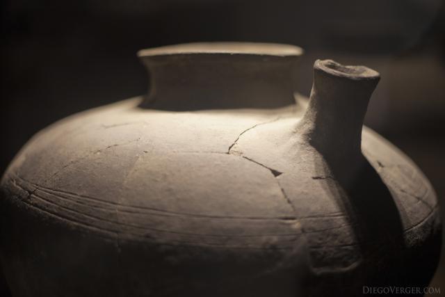 Ceramic vessel from the 14th century - Girona, Spain