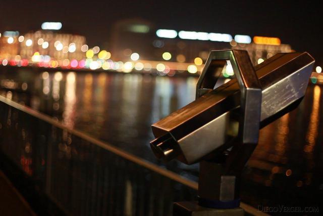 Tourist Binoculars - Geneva, Switzerland