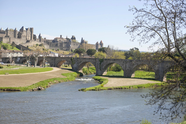 The Pont Vieux and the Cité of Carcassonne - Carcassonne, France
