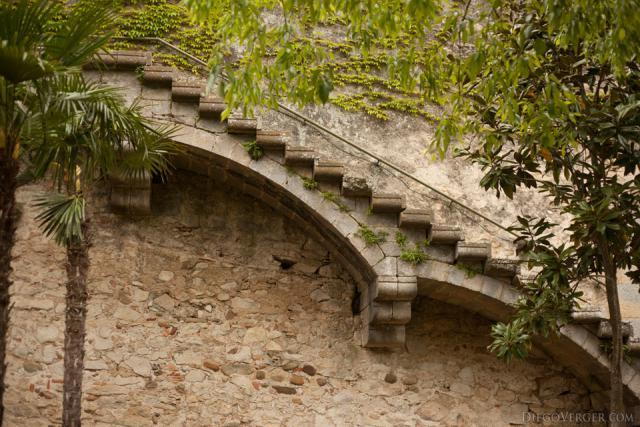 Carolingian wall staircase - Girona, Spain