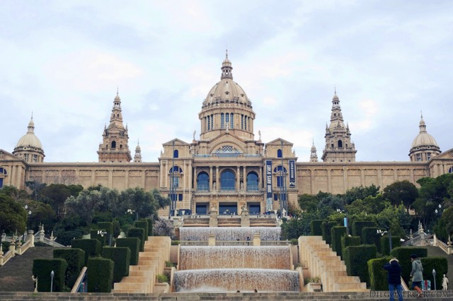 National Art Museum of Catalonia in Barcelona