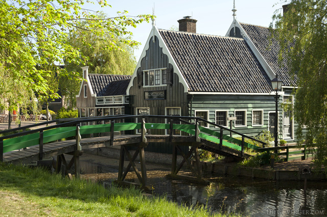 The rush mat factory of Zaanse Schans - Zaandam, Netherlands