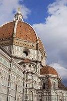 Cupola del Brunelleschi del Duomo di Firenze - Firenze, Italia