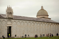 Camposanto building in the Square of Miracles - Pisa, Italy