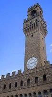 Torre del Palazzo Vecchio di giorno - Firenze, Italia